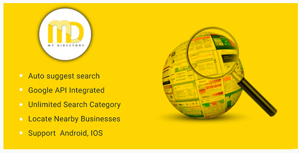 Download] Online Business Directory or Classified Mobile App