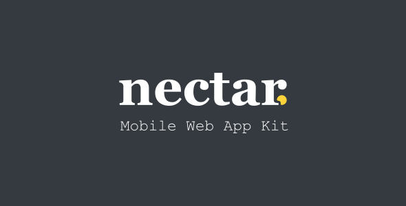 Download] Nectar - Mobile Web App Kit Nulled