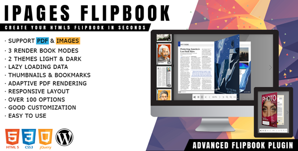 Download] iPages - Flipbook PDF Viewer For WordPress Nulled