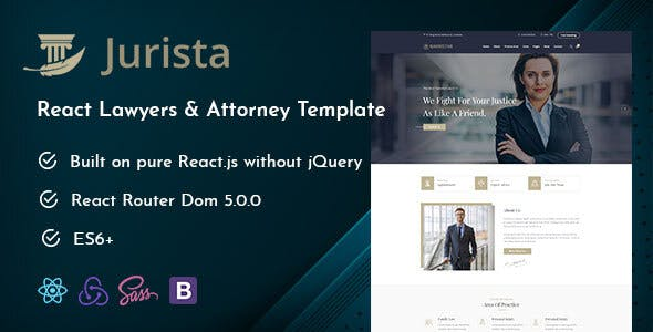 Oh Law Firm >> Download Jurista Law Firm React Js Template Nulled