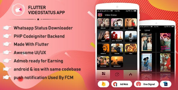 Download Flutter Whatsapp Video Status Video Sharing With