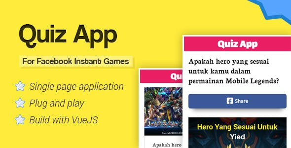 Download] Quiz App for Facebook Instant Games Nulled