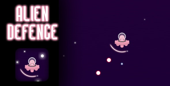 Alien Defence – HTML5 Game (CAPX)